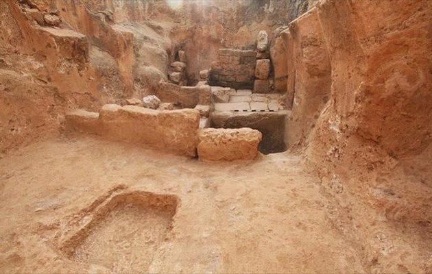 Σπάνια ανακάλυψη στο Ισραήλ: Δείτε πατητήρια οίνου από την εποχή του Βυζαντίου (φωτο)
