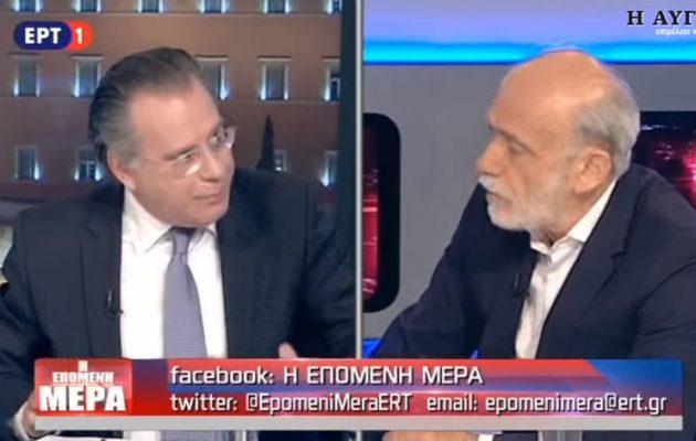 Ο Λιάνης «λιάνισε» τον Κουμουτσάκο: «Ο Ράλλης κατηγόρησε την κυβέρνηση της ΝΔ για εθνική μειοδοσία στο Σκοπιανό»