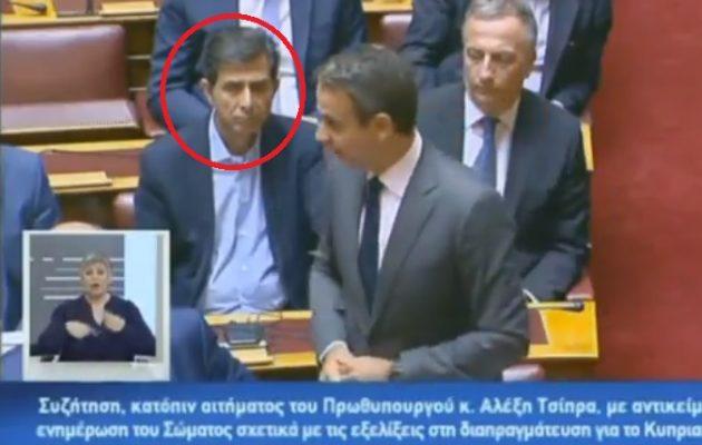 Δείτε σε βίντεο τον Μητσοτάκη υπέρ της ονομασίας «Μακεδονία» για τα Σκόπια και από πίσω να τον χειροκροτεί ο Γκιουλέκας