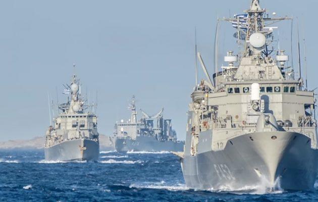 Ελλάδα και Αίγυπτος πραγματοποίησαν κοινές ναυτικές ασκήσεις