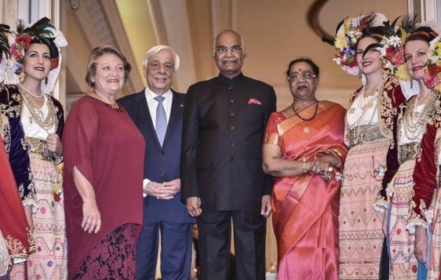 Πρόεδρος Ινδίας: «Ο διασημότερος Έλληνας στην Ινδία είναι ο Μέγας Αλέξανδρος»