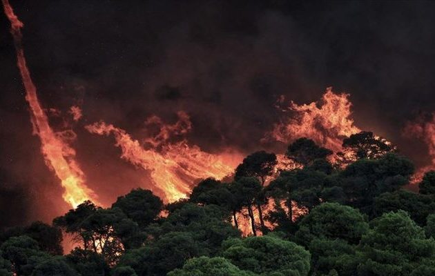 Υπό έλεγχο τέθηκε μεγάλη πυρκαγιά στην Κύπρο – Συνελήφθη «ύποπτος» 35χρονος