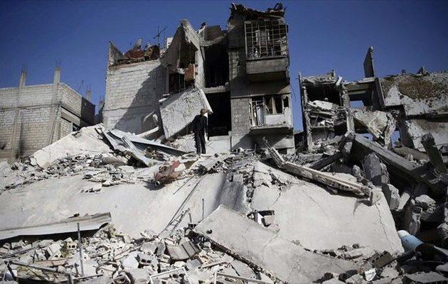 Δέκα άμαχοι νεκροί σε αεροπορικές επιδρομές εναντίον του Ισλαμικού Κράτους στη Συρία