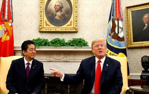 Τραμπ: Είναι όλα έτοιμα για τη συνάντηση με τον Κιμ
