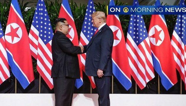 Ιστορική συνάντηση Τραμπ-Κιμ: «Θα αποκτήσουμε μια εξαίρετη σχέση»