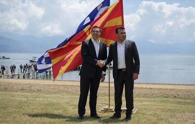 Ο Νίμιτς υμνεί Τσίπρα και Ζάεφ για τη Συμφωνία των Πρεσπών