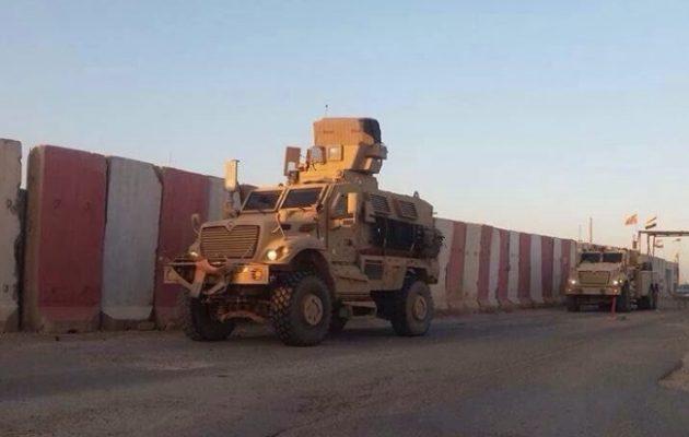 Οι Αμερικανοί «τελειώνουν» τα σχέδια Ερντογάν για εισβολή στο Ιράκ – Στήνουν βάση στο Σιντζάρ