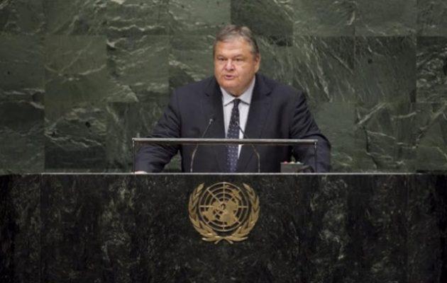 Ο Βενιζέλος το 2014 δήλωνε στον ΟΗΕ υπέρ της σύνθετης ονομασίας – Τι θα ψηφίσει τώρα; (βίντεο)