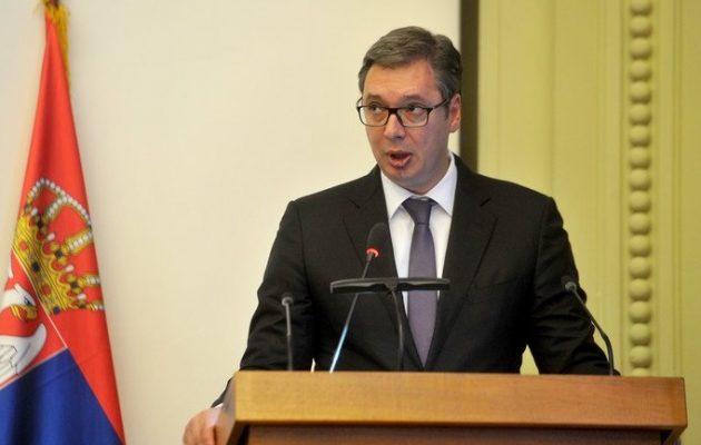 Ξανά ο Σέρβος πρόεδρος Βούτσιτς στην Τουρκία – Θα παραστεί στα εγκαίνια του αγωγού TANAP