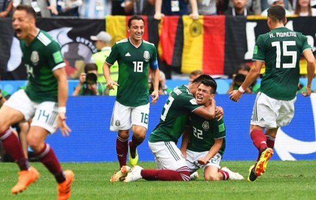 Μουντιάλ 2018: «Βόμβα» από το Μεξικό – Νίκησε 1-0 τη Γερμανία
