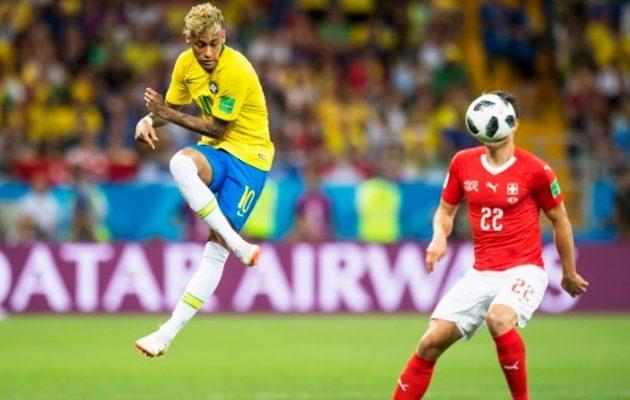 Μουντιάλ 2018: Στραβοπάτησε η Βραζιλία 1-1 με την Ελβετία