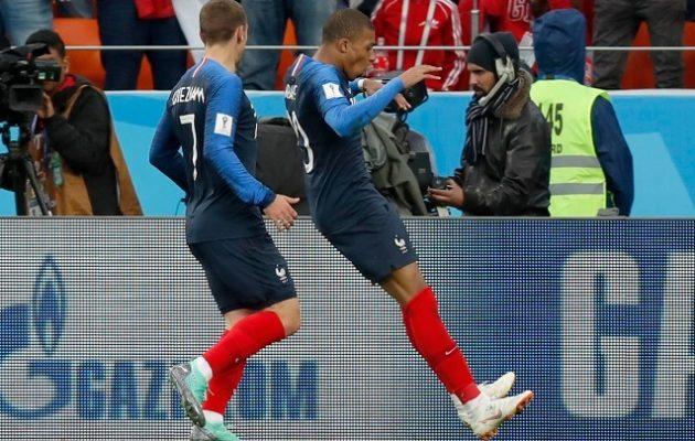 Μουντιάλ 2018: Εξασφάλισε την πρόκριση στους «16» η Γαλλία