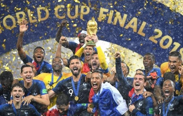 Μουντιάλ 2018: Παγκόσμια πρωταθλήτρια η Γαλλία 4-2 την Κροατία στον τελικό