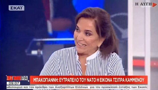 Η Ντόρα Μπακογιάννη δήλωσε ότι έχει στην κατοχή της απόρρητα έγγραφα (βίντεο)