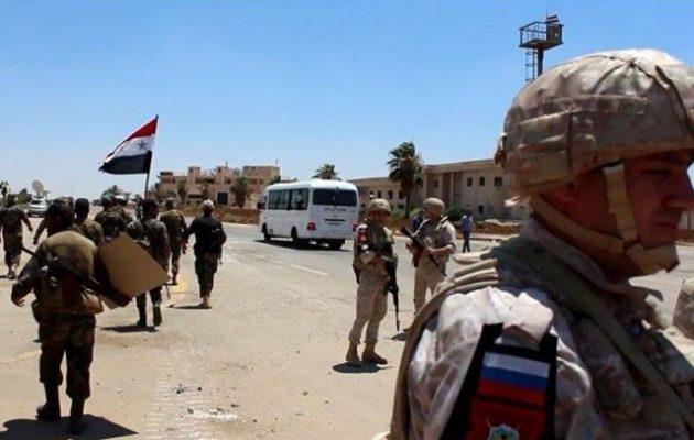 Ο συριακός στρατός απελευθέρωσε την επαρχία Νταράα από τους ισλαμιστές του FSA
