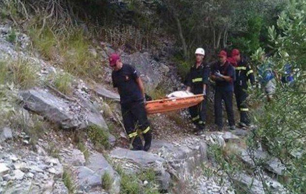 Κρήτη: Γυναίκα έπεσε σε γκρεμό στην Ιεράπετρα