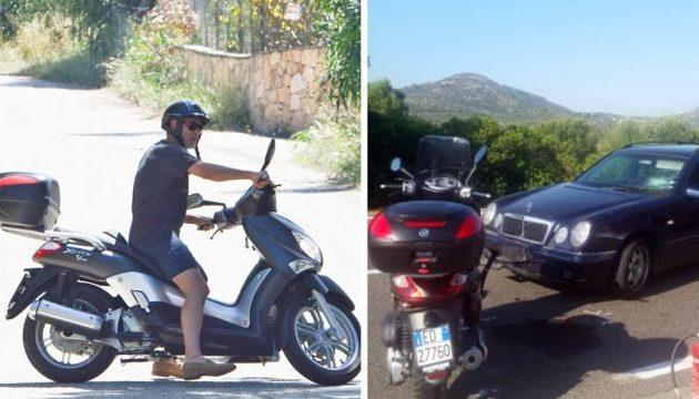 Ο Τζορτζ Κλούνεϊ παρασύρθηκε από αυτοκίνητο στην Ιταλία (φωτο)