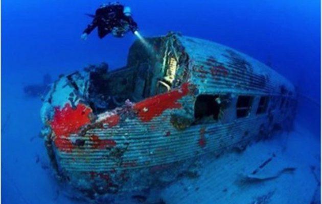 Βρέθηκε γερμανικό αεροσκάφος από τον Β' Παγκόσμιο Πόλεμο ανοιχτά της Ρόδου