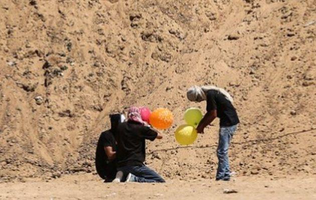 Το Ισραήλ εξουδετέρωσε τρομοκράτες της Χαμάς πριν εξαπολύσουν επίθεση με εμπρηστικά μπαλόνια