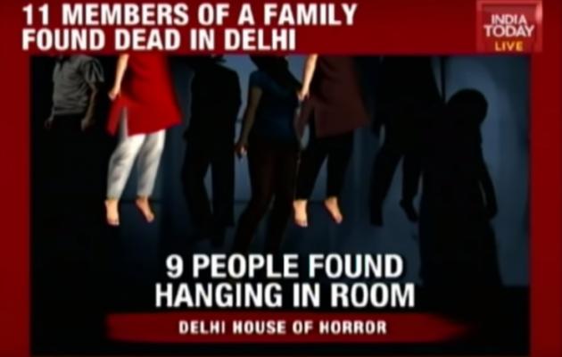 Μυστήριο-Ινδία:  Κρεμάστηκαν με δεμένα χέρια και μάτια 11 μέλη οικογένειας (βίντεο)