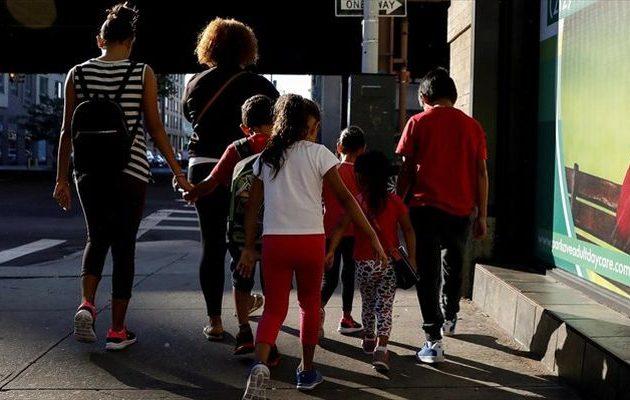 Μετανάστρια κατέθεσε μήνυση κατά των ΗΠΑ γιατί τη χώρισαν από το παιδί της