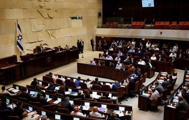 Το Ισραήλ ψήφισε νόμο για «εβραϊκό έθνος-κράτος»