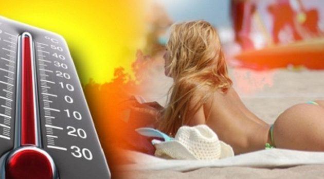 «Κάηκε» η Θεσσαλία: Τους 39 βαθμούς άγγιξε το θερμόμετρο – Μίνι καύσωνας και την Κυριακή