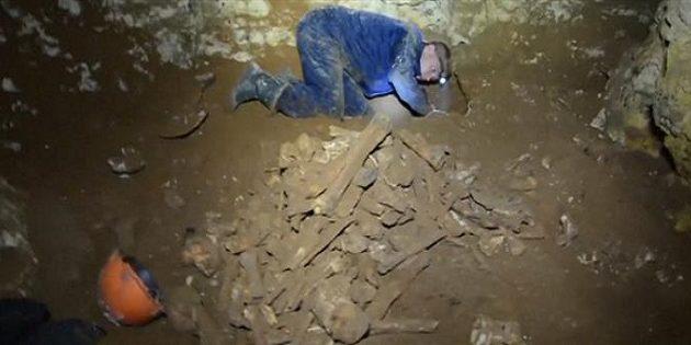 Ανακαλύφθηκε σκελετός μαμούθ στην Κριμαία -Χρονολογείται σε μισό εκατομμύριο χρόνια