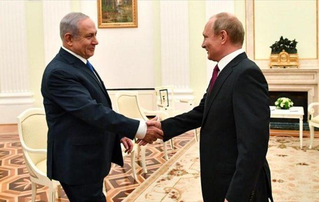 Νετανιάχου σε Πούτιν: Απομάκρυνε το Ιράν από τη Συρία
