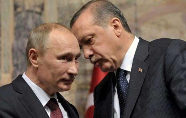 Ο Ερντογάν τηλεφώνησε πανικόβλητος στον Πούτιν ενώ τον «λιώνει» ο Τραμπ