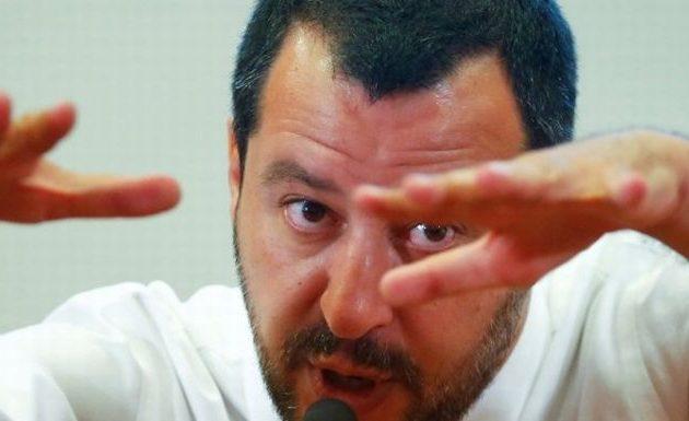 Σαλβίνι: Θέλουν μια Ιταλία σκλάβα και φοβισμένη-  Μην μας ενοχλούν, αποφασίζουμε μόνοι μας
