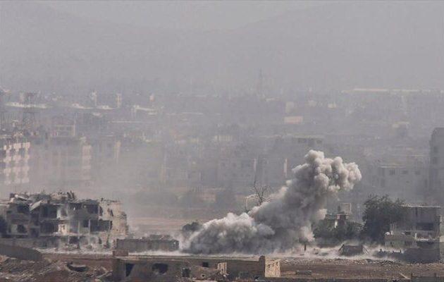 15 άμαχοι νεκροί σε αεροπορικές επιδρομές στη νότια Συρία
