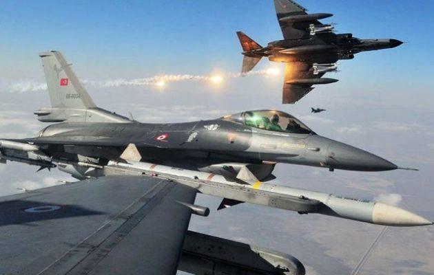 Ξεσάλωσαν πάλι οι Τούρκοι: 37 παραβιάσεις στο Αιγαίο – Δύο εικονικές αερομαχίες