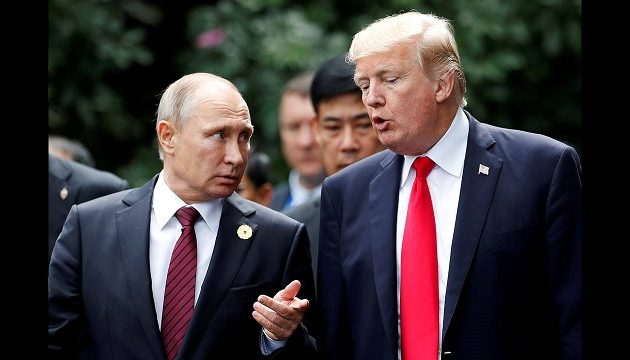 Τραμπ: Εχουμε καλές σχέσεις με τον Πούτιν – Θα τα πούμε στη G20