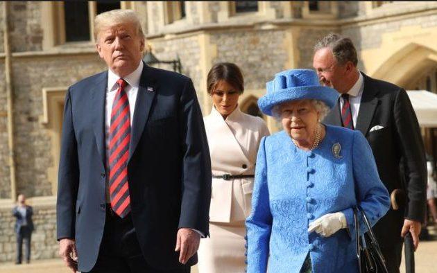 Τραμπ: Θα είμαι υποψήφιος και το 2020 – «Η Βασίλισσα είναι πολύ όμορφη γυναίκα»