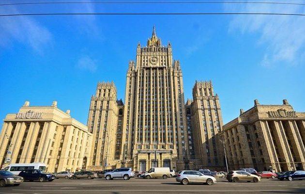 Στο ρωσικό ΥΠΕΞ κλήθηκε ο Έλληνας Πρέσβης στη Μόσχα για «φιλική συζήτηση»