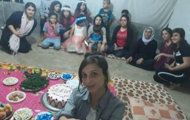 Γιαζίντι πρώην ερωτική σκλάβα γιόρτασε την πρώτη επέτειο της ελευθερίας της από το Ισλαμικό Κράτος