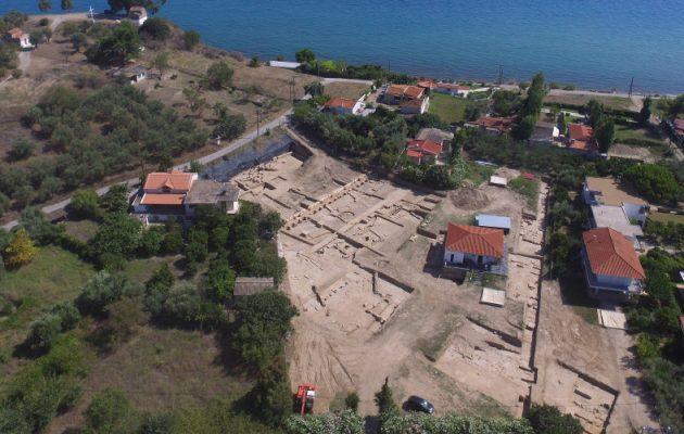 Σημαντικά αρχαιολογικά ευρήμαρα στο Ιερό της Αμαρυσίας Αρτέμιδος στην Αμάρυνθο Ευβοίας
