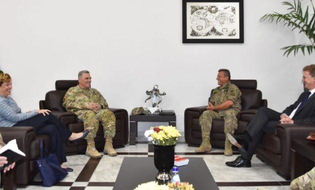 Ηχηρό μήνυμα των ΗΠΑ στην Τουρκία: Ο Αμερικανός Α/ΓΕΣ αναγνώρισε ως νόμιμο στρατό της Κύπρου την Εθνική Φρουρά