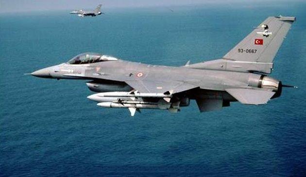 Τουρκικά μαχητικά παραβίασαν 55 φορές το Αιγαίο