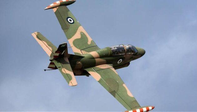 Πτώση εκπαιδευτικού αεροπλάνου της Πολεμικής Αεροπορίας στην Τρίπολη
