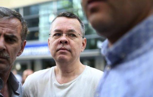 Η Τουρκία είπε ξανά «όχι» στην απελευθέρωση του Μπράνσον – Κλιμακώνεται η κρίση με τις ΗΠΑ