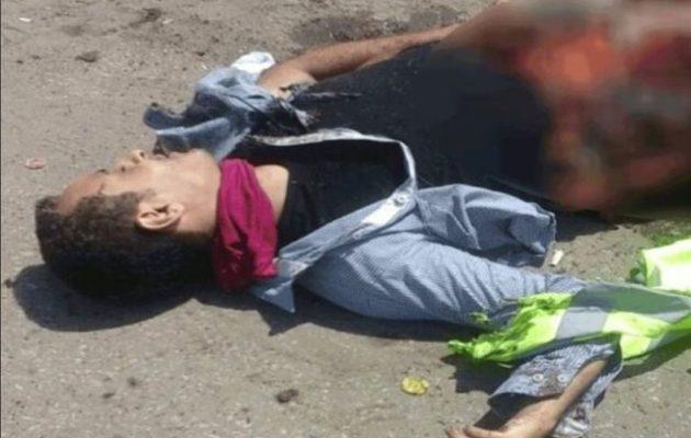Βομβιστής αυτοκτονίας δεν κατάφερε να ανατιναχτεί σε εκκλησία στο Κάιρο και «έσκασε» μόνος του (φωτο)