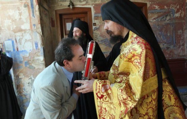O νέος διοικητής του Αγίου Όρους έκανε την πρώτη του περιοδεία στον Άθω (φωτο)