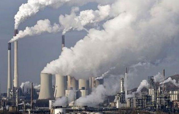 Το διοξείδιο του άνθρακα έφτασε στα υψηλότερα επίπεδά του εδώ και 800.000 χρόνια