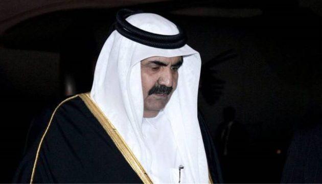 Ο πρώην εμίρης του Κατάρ πήγε στην ψαραγορά για να διαλέξει ψάρια
