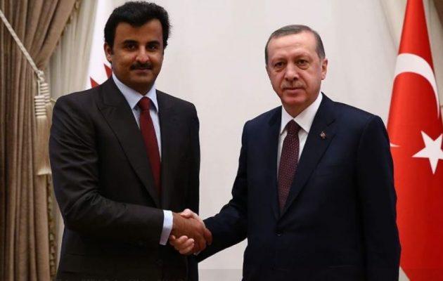 Διεθνώς απομονωμένος ο Ερντογάν βρίσκει οικονομική βοήθεια 15 δισ. από το Κατάρ