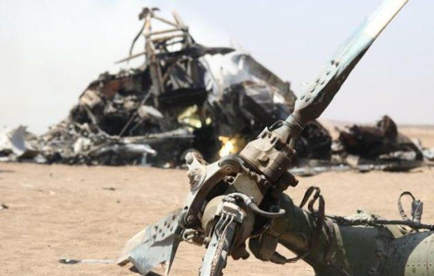 Αμερικανικό στρατιωτικό ελικόπτερο συνετρίβη στα σύνορα Ιράκ-Συρίας