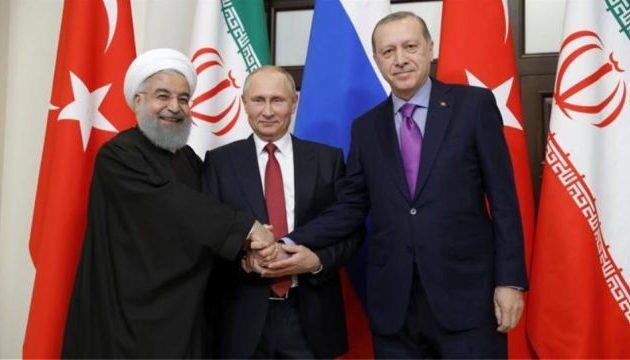 Οι τρεις «συνέταιροι» Πούτιν-Ερντογάν-Ροχανί «ψήνουν» νέα Σύνοδο κορυφής