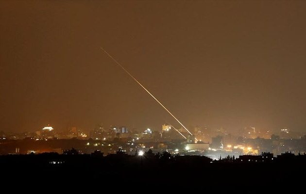 Ισραήλ: Αντίποινα για την εκτόξευση ρουκέτας από τη Λωρίδα της Γάζας
